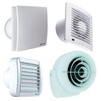 Extractores de aire para baño