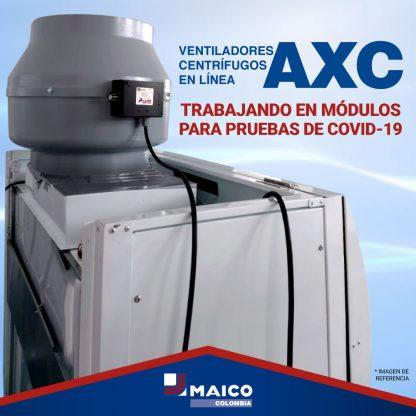 Ventilador AXC-Covid-19