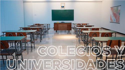 Colegios y universidades